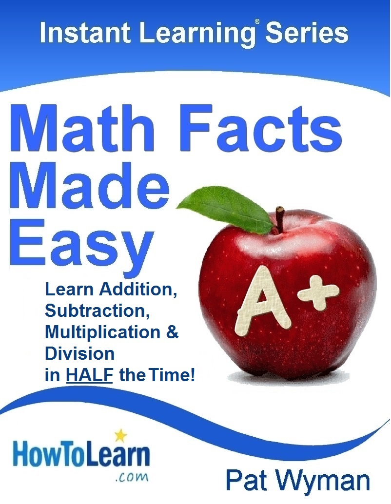 Worksheet Learning Math Facts free math facts made easy book howtolearn com
