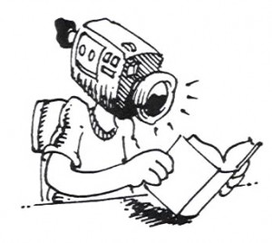 VideoCameraHeadReadingBook3 300x268 style of learning