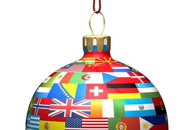 ... holiday traditions from countries all over the globe in the voices of
