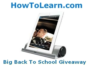 big back to school giveaway on howtolearn