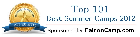 Top 101 summer camps 2012