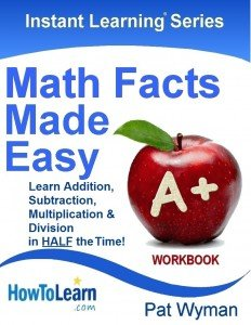 Math Facts Made Easy Workbook Final 1 15 2013