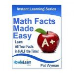 Math Facts Made Easy 255 x 255