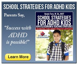 School Strategies for ADHD Kids