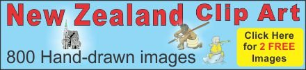 Clipart from New Zealand