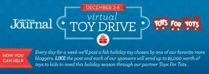 virtual toy drive to benefit toys for tots