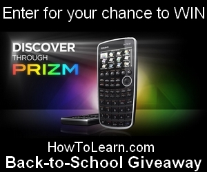 HowToLearn Big Back to School Giveaway