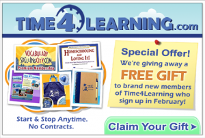 Time4Learning is giving a free gift