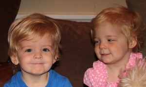 Surviving the terrible twos with twins