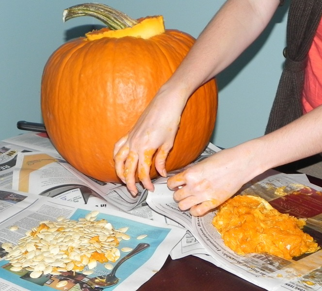 safe pumpkin carving