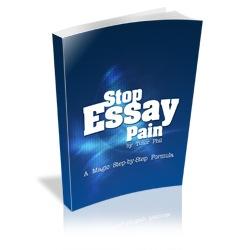 Stop Essay Pain