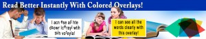 use colored overlays to improve your reading
