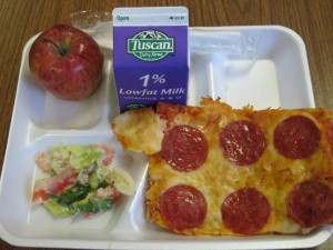 Pizza As A Serving Of Vegetables
