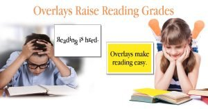 Colored Overlays Improve Reading