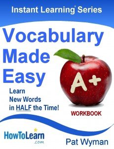 Instant Learning Series - VOCABULARY - WORKBOOK