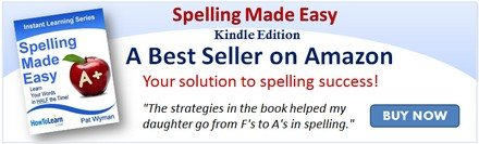 SPELLING MADE EASY BANNER
