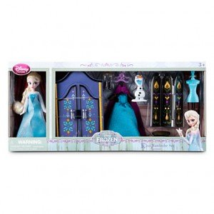 Elsa Mini Doll Frozen Playset
