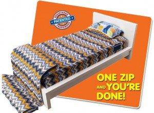 ZipIt Bed