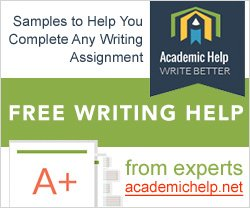 free writing assignment planner