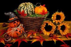 Halloween Decoration in fall By Vera Kratochvil