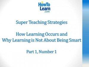 Super Teaching Strategies part 1 number 1
