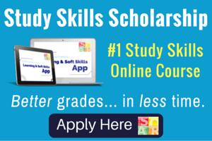 study skills scholarship
