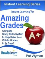 Amazing Grades Complete Study Skills System to Help Raise Your Child's Grades in 14 Days!