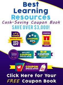 FREE Learning Resources Coupon Book