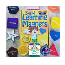 3 in 1 learning magnets parent and teacher choice award winner