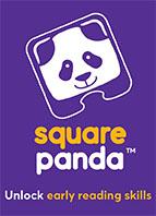 square panda reading