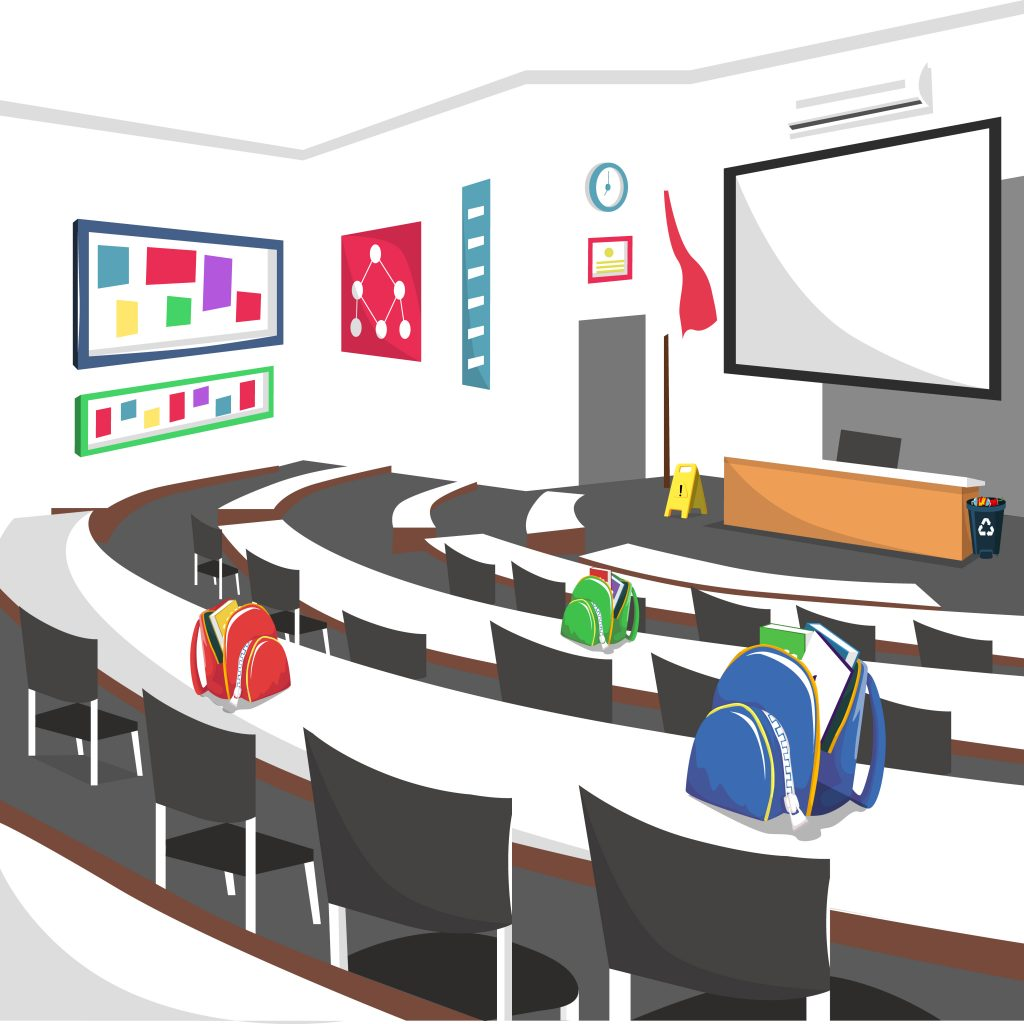 Lecture hall for large classes