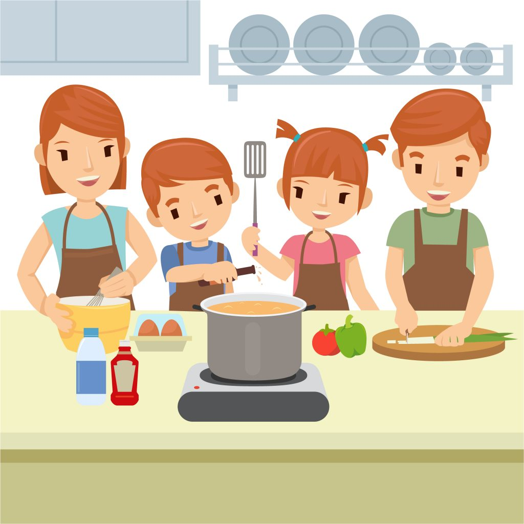Travel with your child without leaving home by trying new recipes