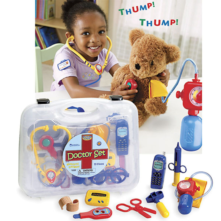 Top Learning Resources Toys : Pretend play doctor set how to learn world s leading