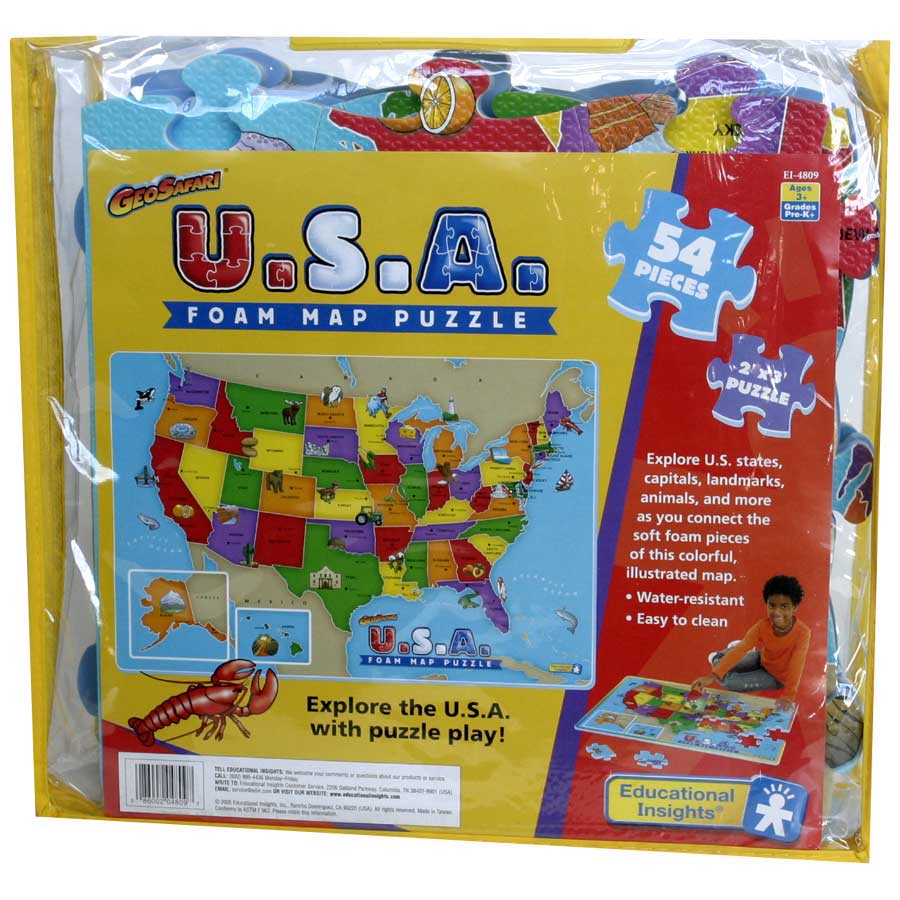 Wonderfoam Giant USA Map Puzzle - How to Learn on white usa map, nashville usa map, ikea usa map, small usa map, troll usa map, walmart usa map, europe usa map, network usa map, flying j usa map, eastern usa map, atlantic city usa map, red river usa map, old usa map, simple usa map, large usa map, blank usa map, full screen usa map, selma usa map, attack on titan usa map, rio grande usa map,